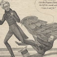 Nicholas Biddle And The Of The U S Bank Political Cartoon A Potential Third Bank Of The United States Political Cartoons Andrew Jackson Jackson