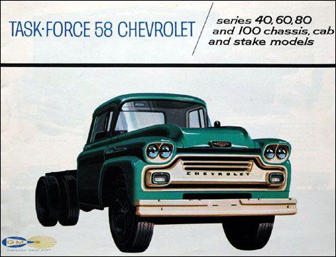 1958 Chevrolet Viking Spartan Catalog Literature Chevrolet Classic Cars Trucks Dropped Trucks