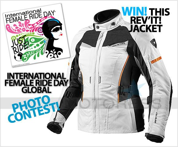 This weekend: International Female Ride Day #ifrd #femalerideday #justride Win a Sand Ladies jacket