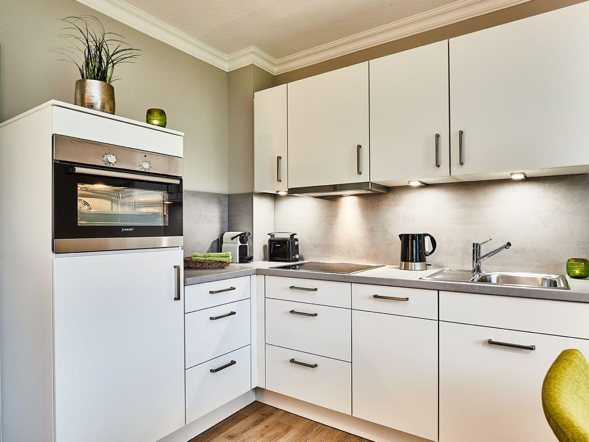 Die Luxus Küche In Matt Lack Küchenprodukte Luxus Ferienwohnung Wohnküche