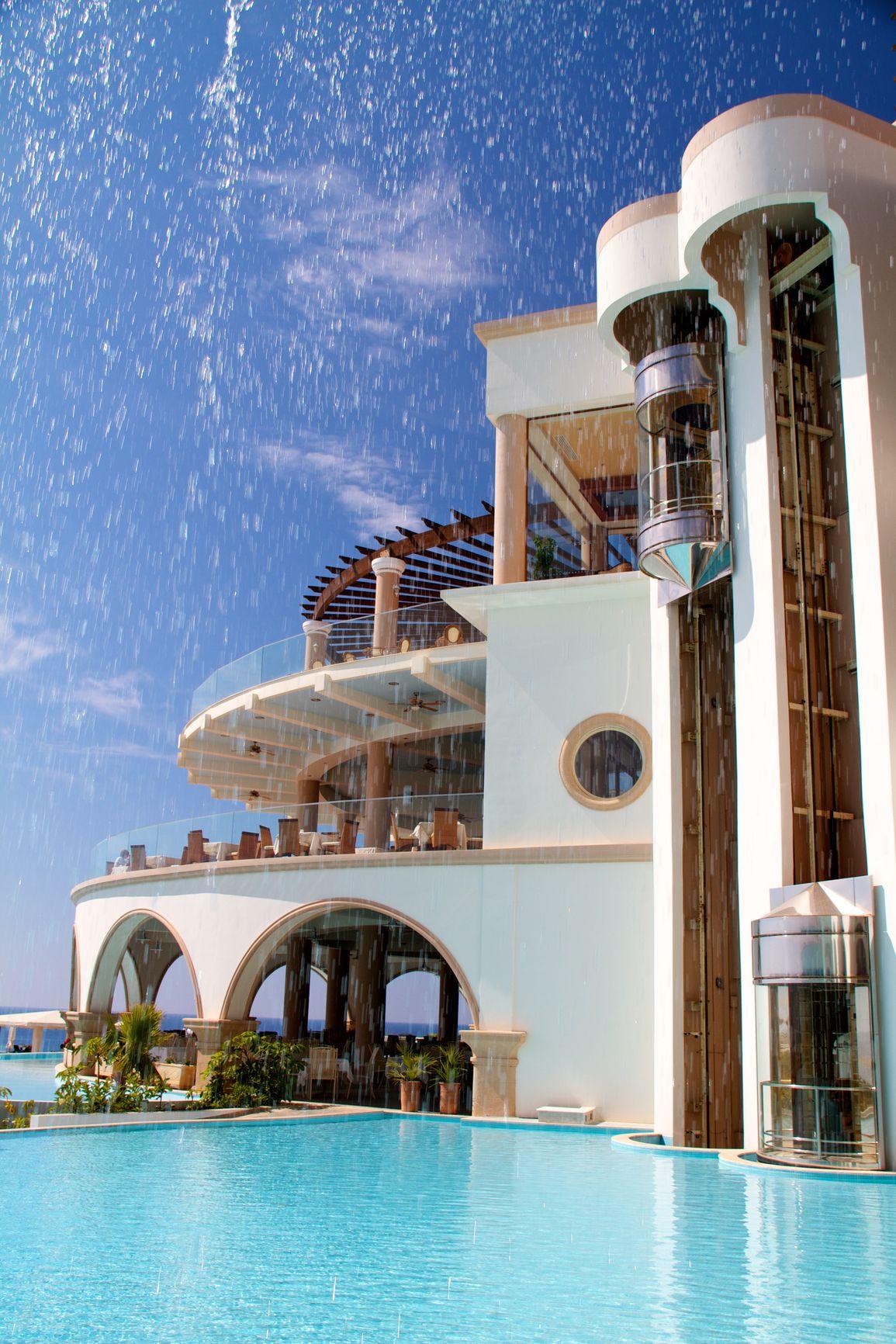 3 Story Beach Villa In Greece