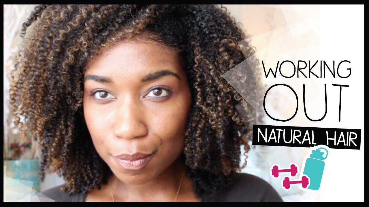Grwm Preparing My Natural Hair To Work Out Natural Hair Before After Exercise Tips Natural Hair Styles Hair Styles Hair Porosity