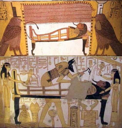 Resurrection Of Osiris Ancient Egypt Egypt Art Ancient Egypt Art