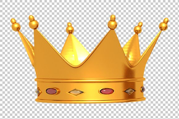 Check out Crown - 3D Render PNG by TrueMitra Designs on Creative Market