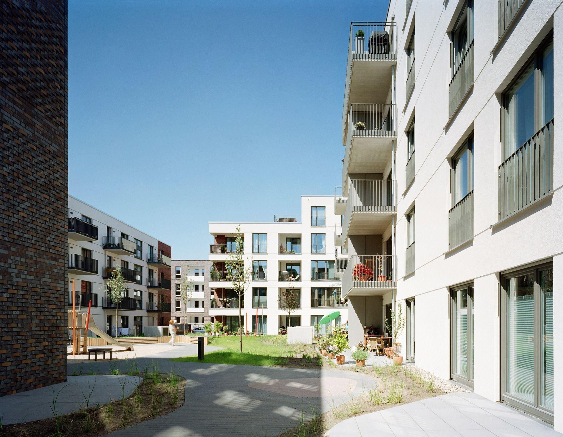 Dorfmüller I Klier Hamburg: Innenhof, © Dorfmüller I Klier, Hamburg