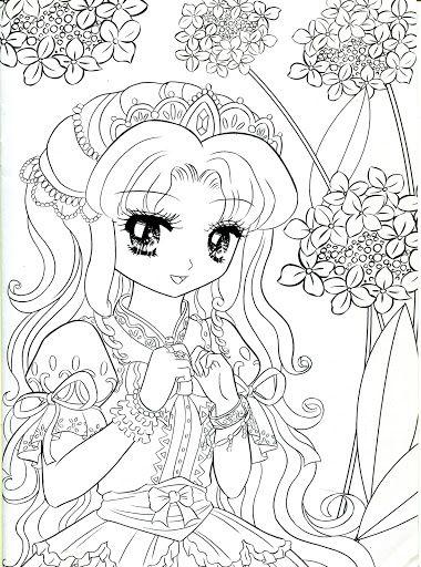 Coloring Book Princess