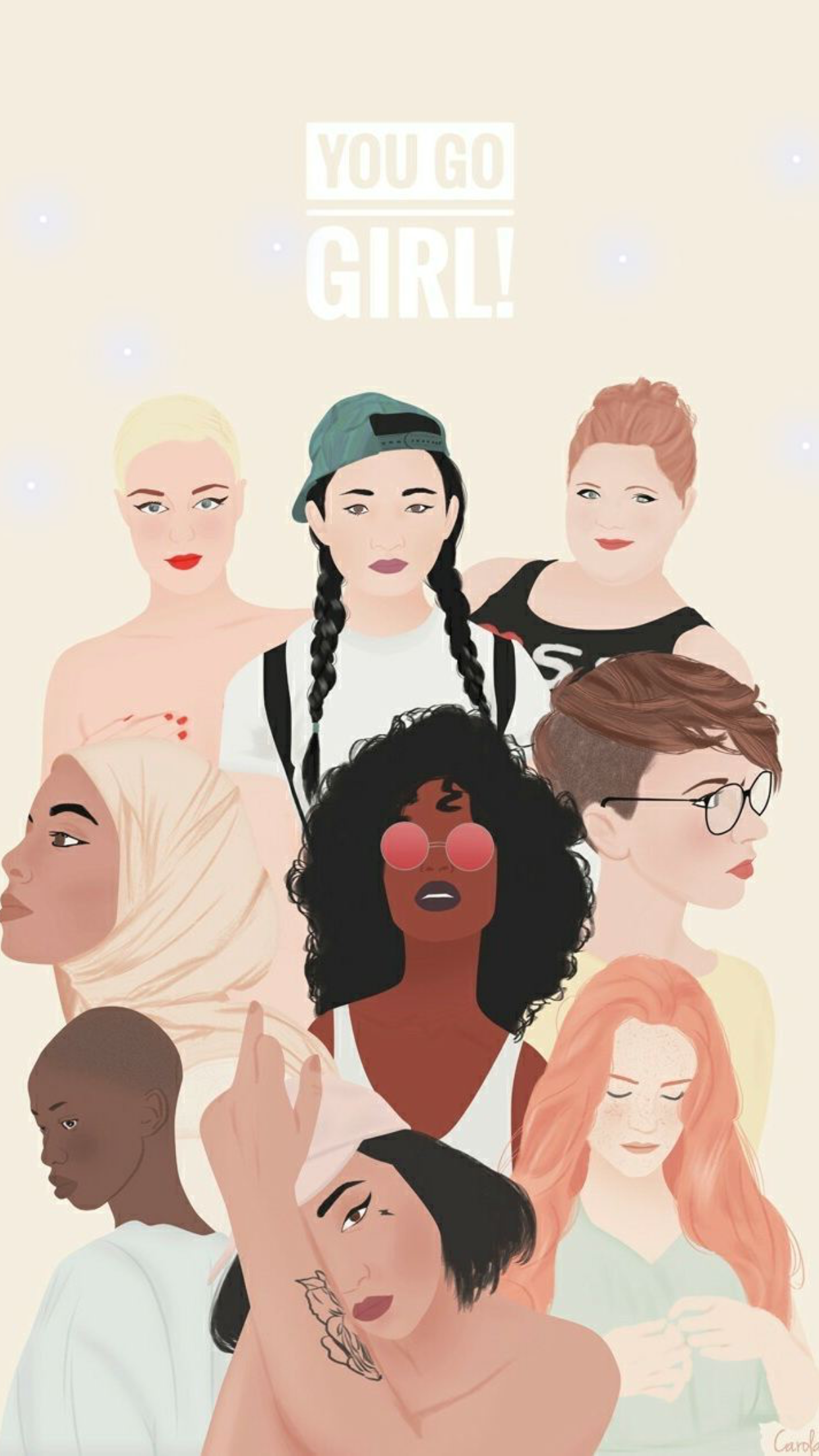 Pin by Miranda Estrada on Artwork II   Girl power art, Feminist ...
