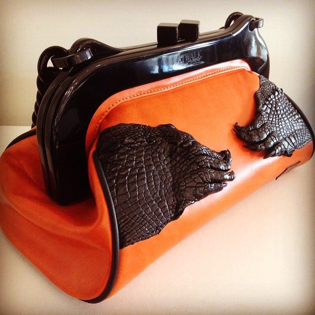 It S Not Just A Handbag Work Of Art Amazing New One Kind Full Grain Leather And Crocodile From Australian Label Catwalk