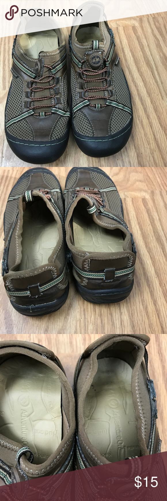 f19e79c6f28323 Jeep J-41 Tahoe Shoes Womens 8M Brown Vegan Water Jeep J-41 Tahoe Shoes  Womens 8M Brown Vegan Water Ready Slip On Sport. Great Pre-Owned condition.