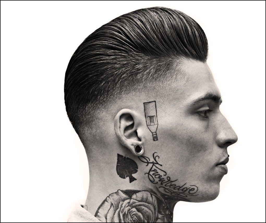 Mens haircuts widows peak greaser hairstyles for men  tatuajes  pinterest  greaser