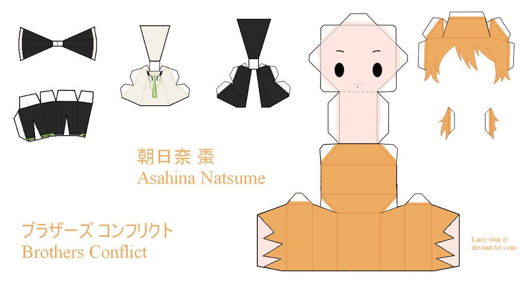DeviantArt: More Like Brothers Conflict Papercraft - Asahina ...