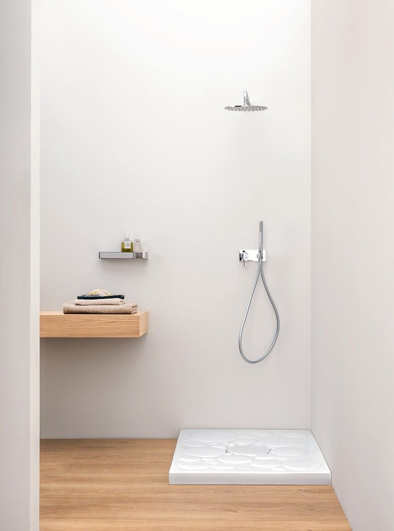 Rectangular Ceramic Shower Tray OPTICAL By Nic Design Bathroom - Ceramic tray for bathroom for bathroom decor ideas