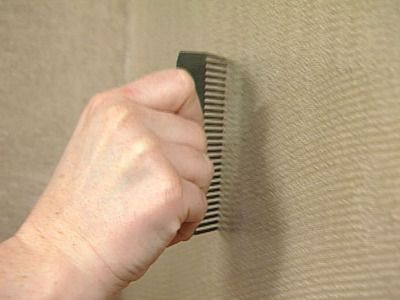 How To Create Grass Cloth Walls Textured Walls Inspiration Wall Painted Paneling