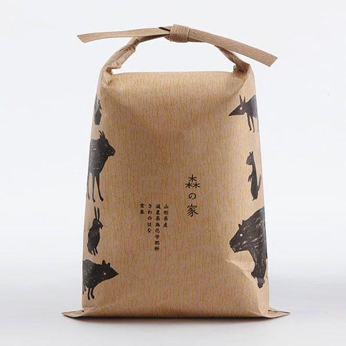 さわのはな【新米/玄米】2.3kg 一升半 - 森の家|山形県真室川 伝承野菜栽培農家