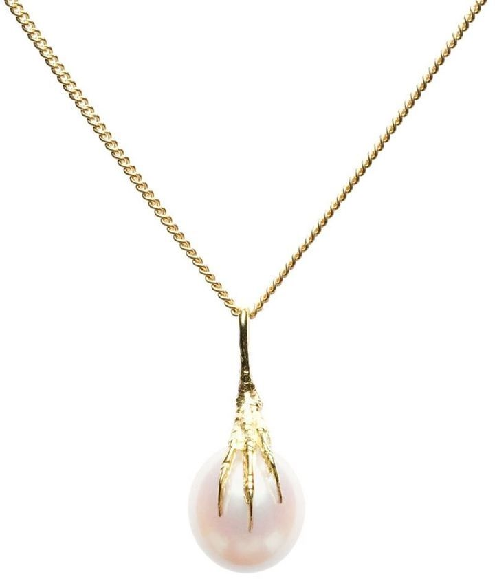 Wouters & Hendrix Gold 'Crow's Claws' pearl necklace