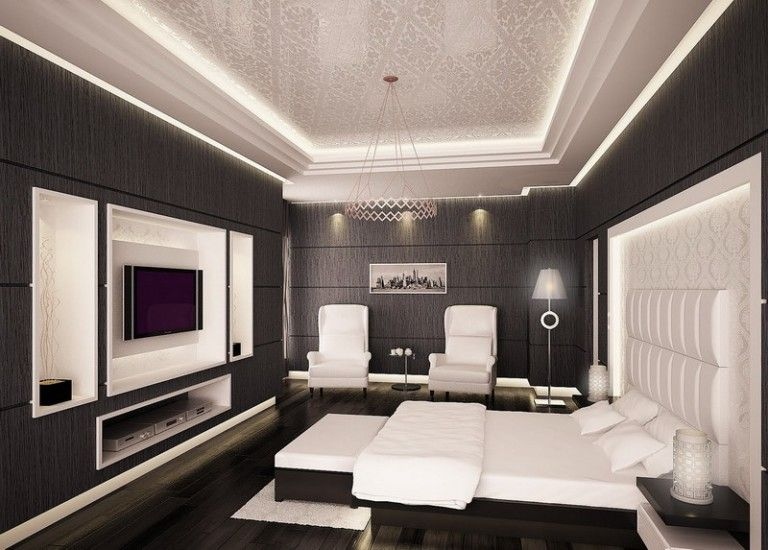 Ways To Pulling Periwinkle Into Black And White Bedroom - 2015 best bedroom design