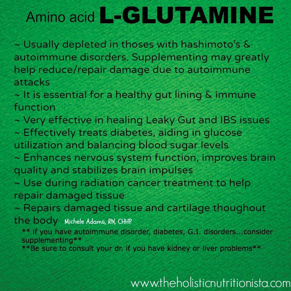 l glutamine pick out belongings depression