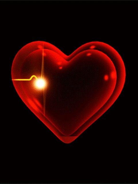 Картинка с бьющимся сердцем, месяцем рождения