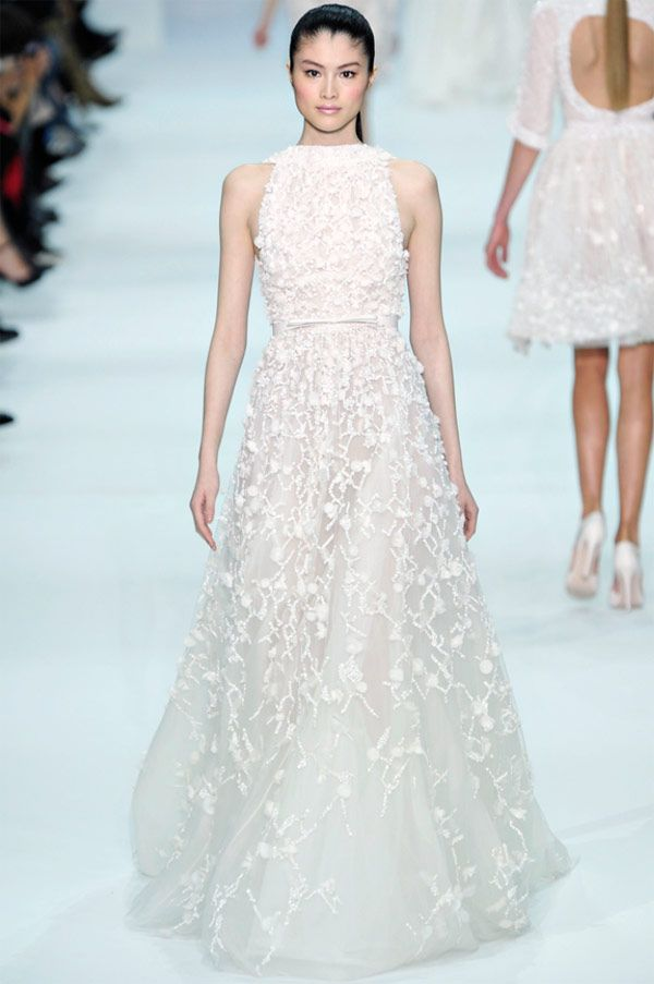 c3c24ff75e5 Elie Saab – 2013 Couture Collection All Sparkle and Shimmer