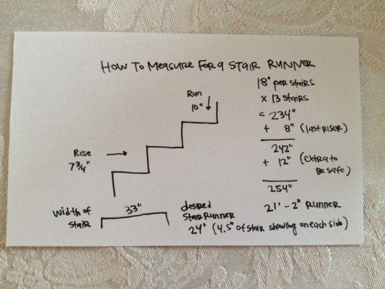 How to plan for a stair runner stair runner carpet