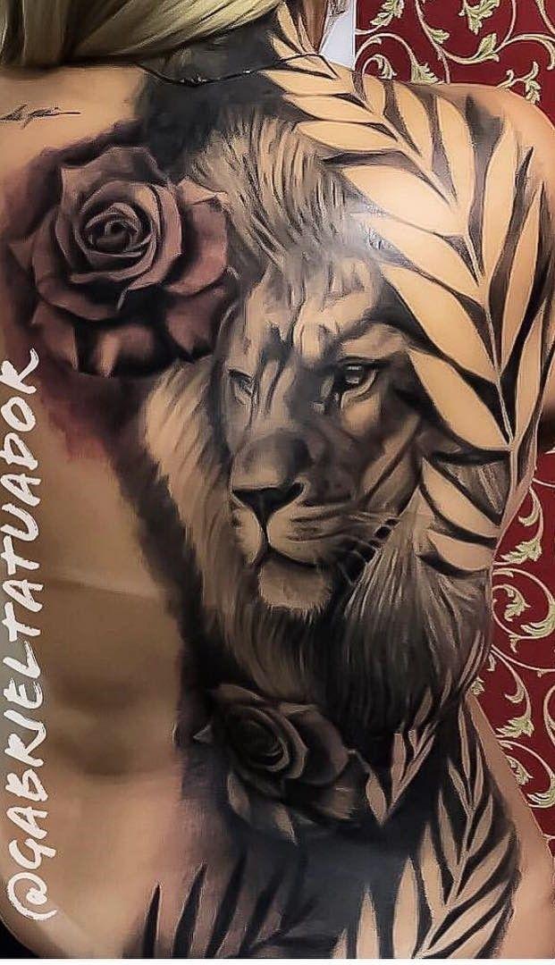 As 90 Melhores Tatuagens nas Costas [Femininas e