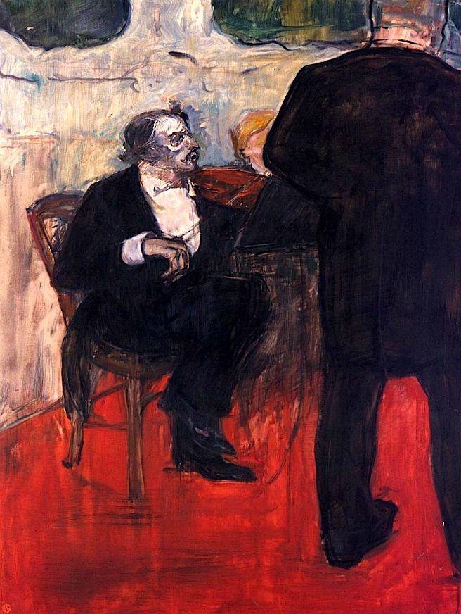 The Violinist Dancia / Henri de Toulouse-Lautrec - 1900