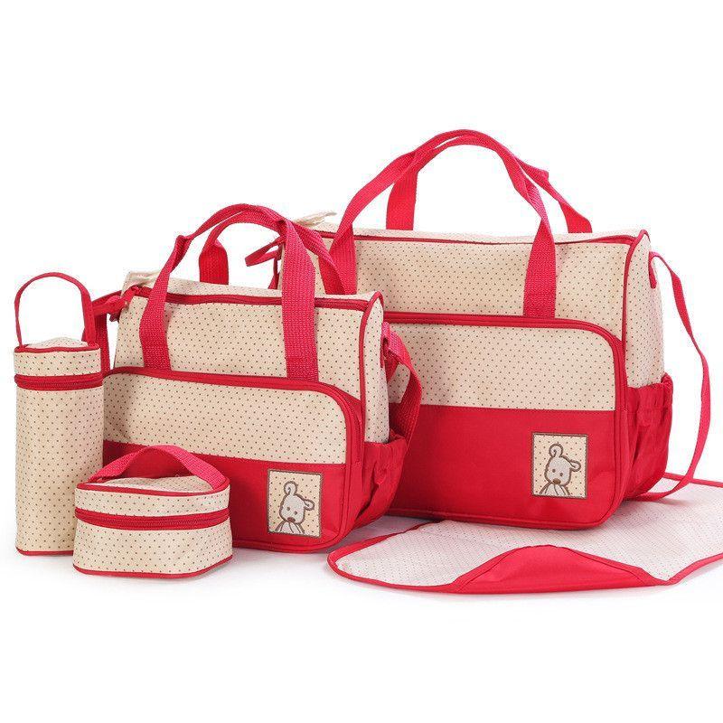 af630f75c4e3 Mushy for Babies - Designer Women Fashion Five In One Diaper Bag ...