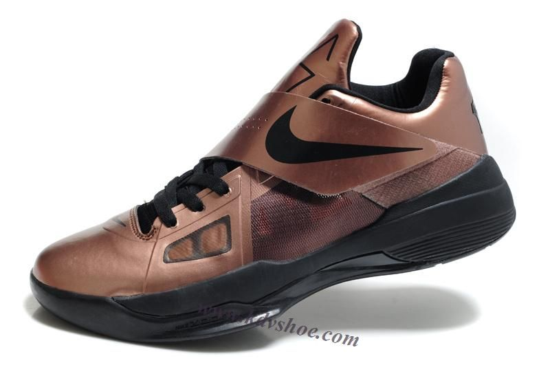 cheaper 9f9a5 5d814 Nike Kevin Durant KD IV 4 Copper Christmas Metallic Bronze Black 473679 700