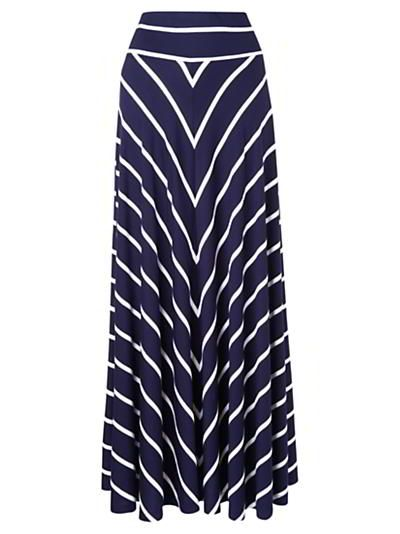 12 Navy and White Nautical Ideas | Maxi skirts, Skirts and White ...