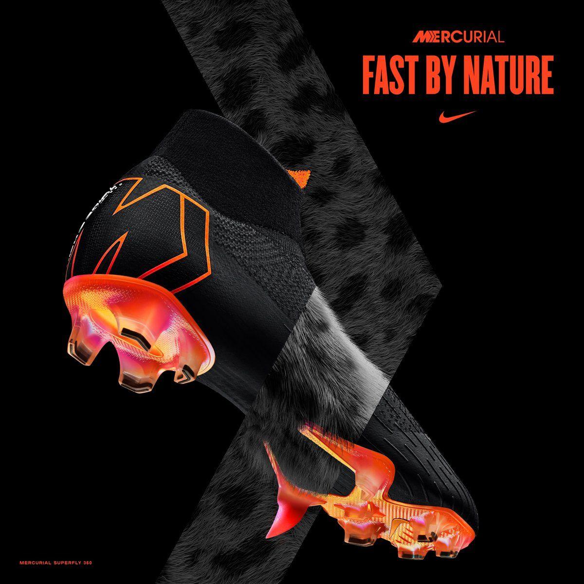 d9ff5546571a7 Nike Mercurial 360 Black Botas Nike