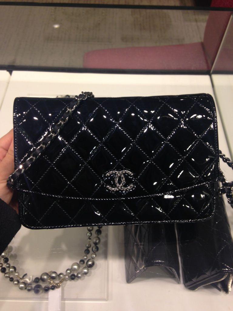 8832ab427e31 black patent brilliant woc $2100 | Bags | Chanel woc, Chanel, Fashion