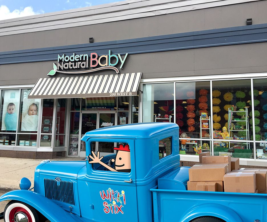 Looking for Wikki Stix in Ferndale, MI? Visit Modern Natural Baby at the address below! A new shipment of Wikki Stix was just delivered!  MODERN NATURAL BABY, 200 W 9 MILE RD SUITE B, FERNDALE, MI 48220, 248-629-6306