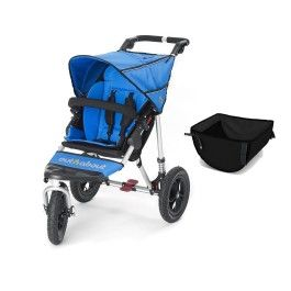 Out 'n' About Nipper Single 360 V3 and Basket. #pushchair #buggy http://www.babydino.com/out-n-about-nipper-single-360-v3-and-basket