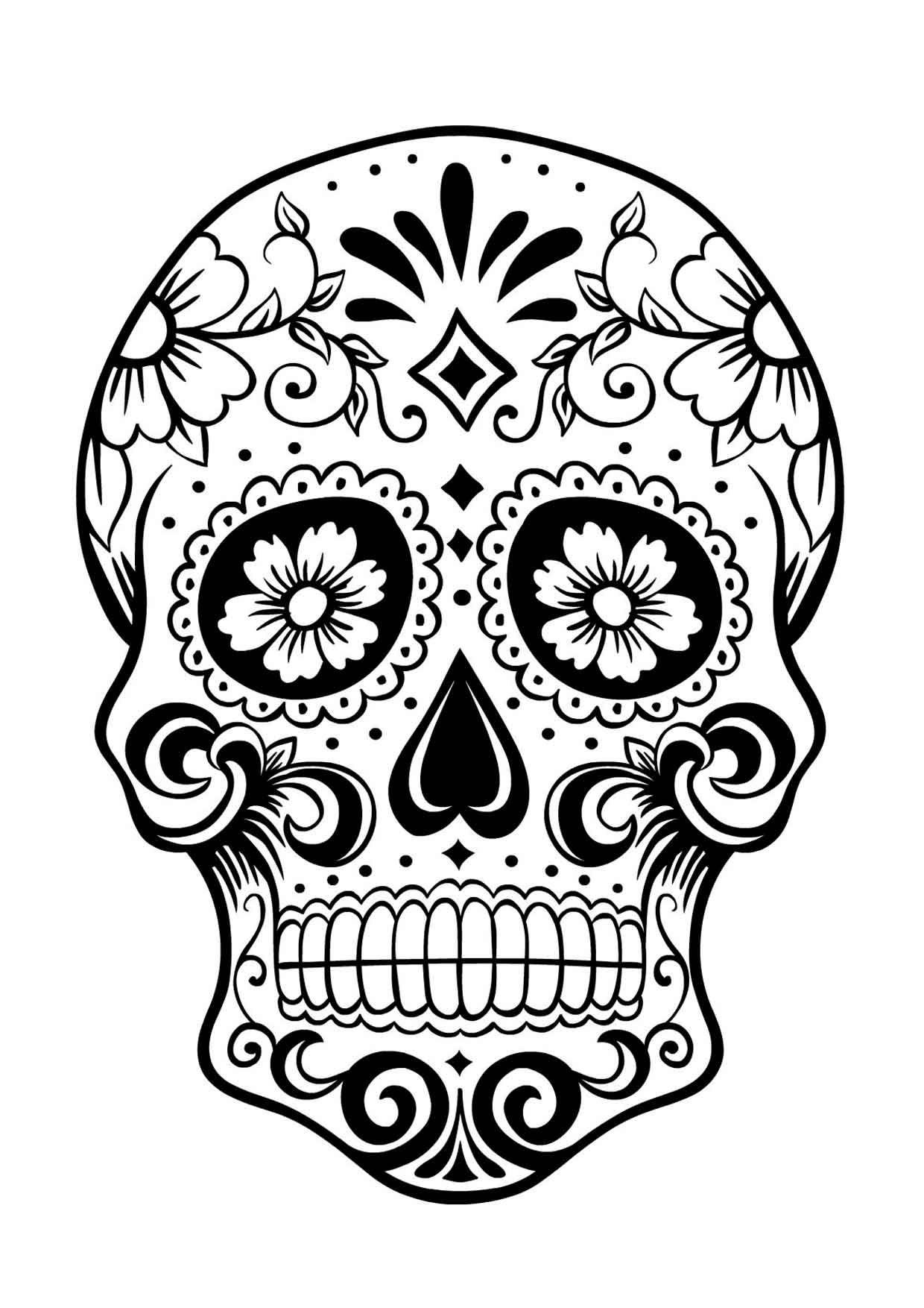 20 Padrisimos Mandalas De Dia De Muertos Para Imprimir Y Colorear Mujer De 10 Guia Real Para La Mujer Actual Enterate Ya Calaveras Mexicanas Para Colorear Dibujo Dia De Muertos