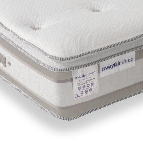 Pillow Top Pocket Memory 1500 Mattress Wayfair Sleep Size Small