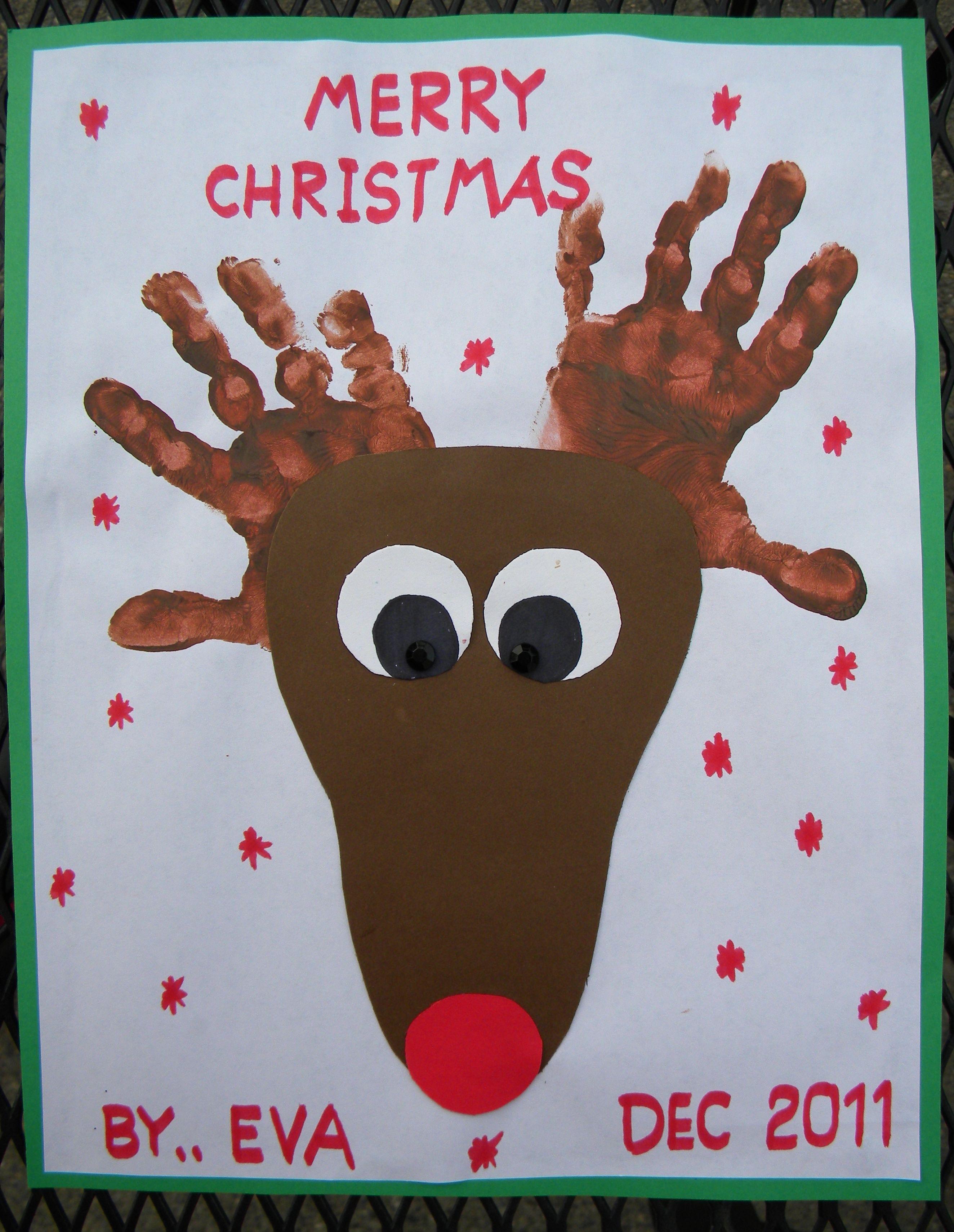 christmas crafts hand foot print crafts pinterest footprints