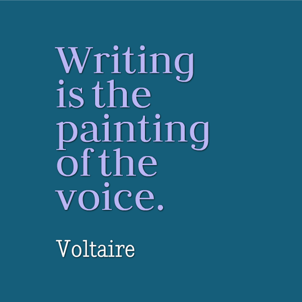"""Inspirational Writing Quotes: Are You Painting With Your Original Voice Today? """"Writing"""