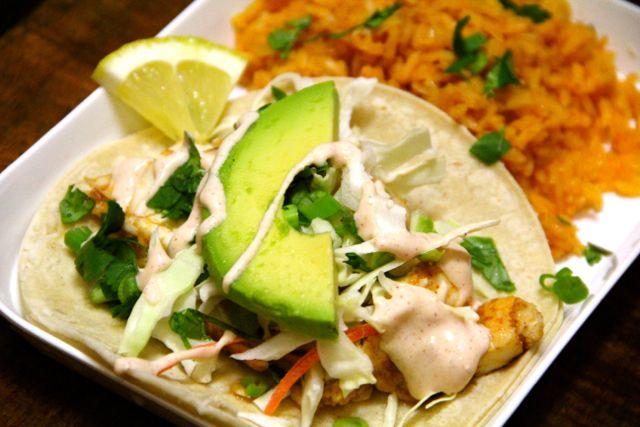 Alaskan halibut tacos recipe halibut tacos and taco for Halibut fish tacos