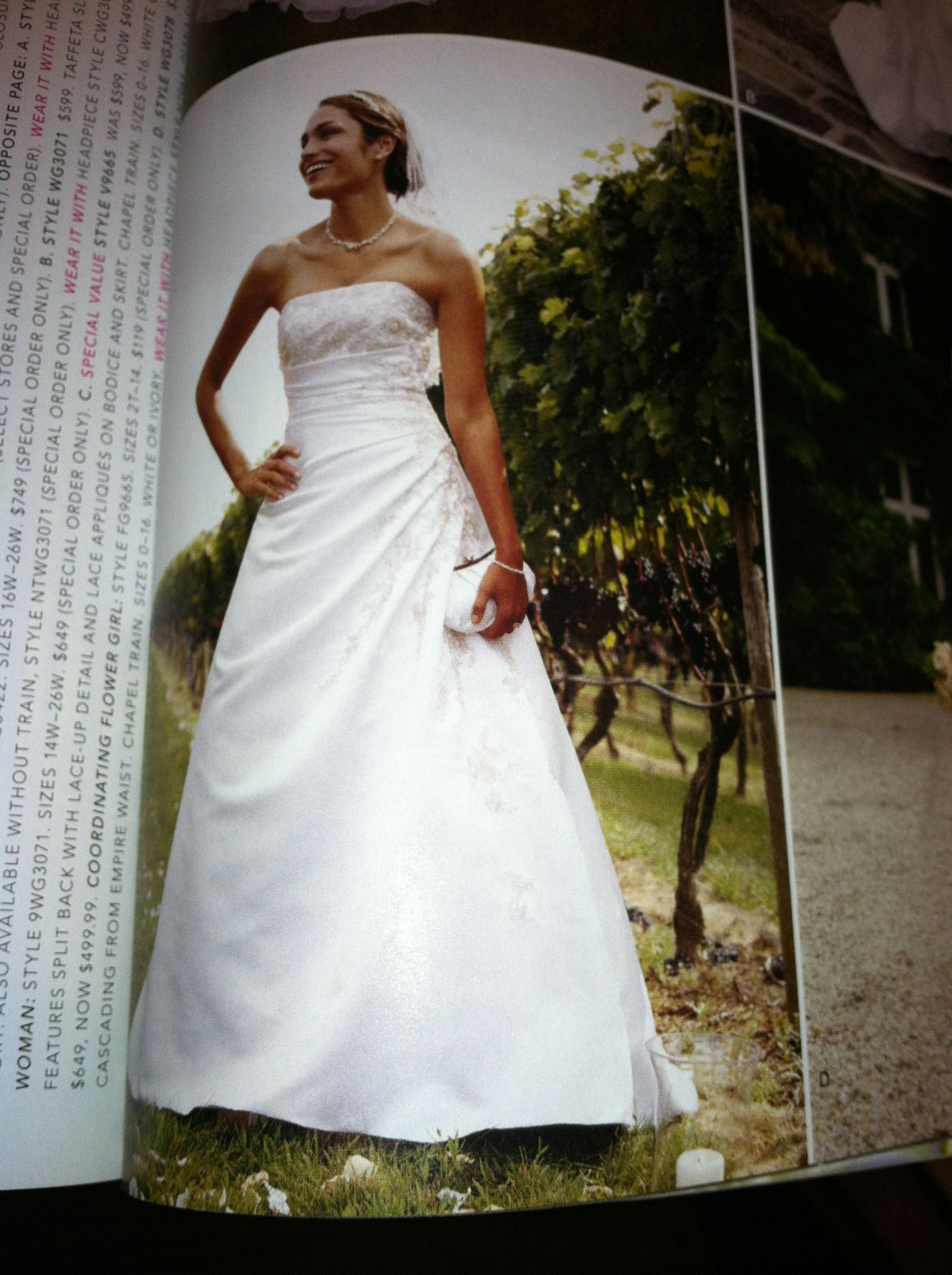 My wedding dress love it :-)