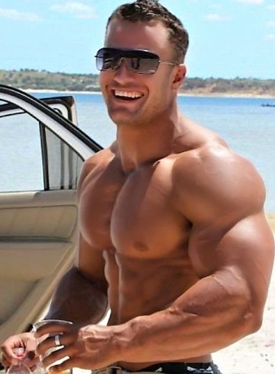 Muscle men hot gay