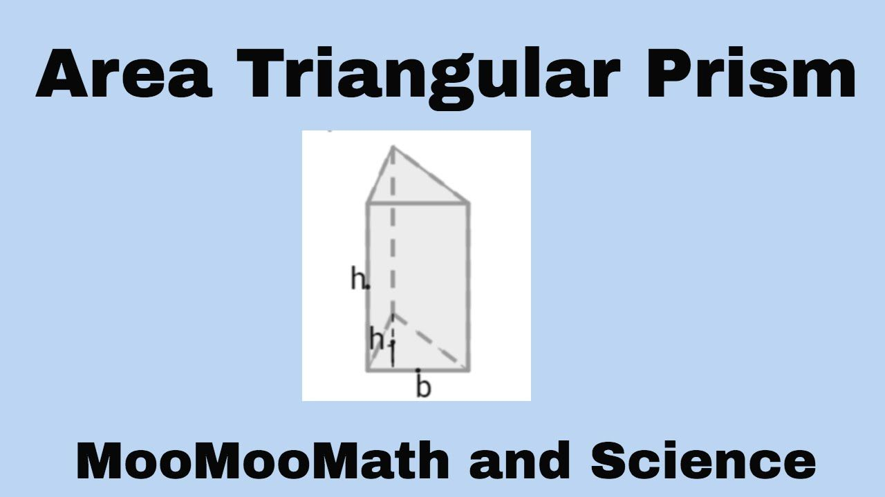 Lateral Area Triangular Prism What Is The Lateral Area Of A Triangular Prism With Base Edges All Equaling 3 Meters Triangular Prism Middle School Science Prism
