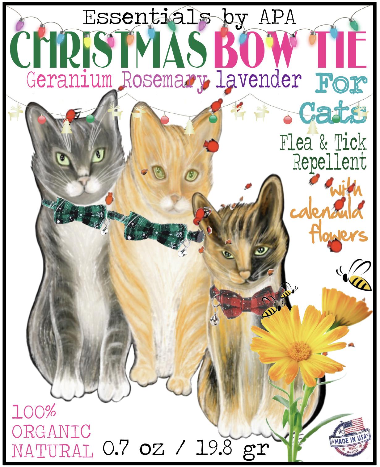Christmas Bow Tie Flea Tick Collar For Cats Dogs Cat Bowtie Collar Cat Collars Cat Fleas