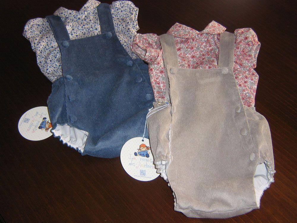 80d9cf842 Ranitas de bebé para el invierno en pana
