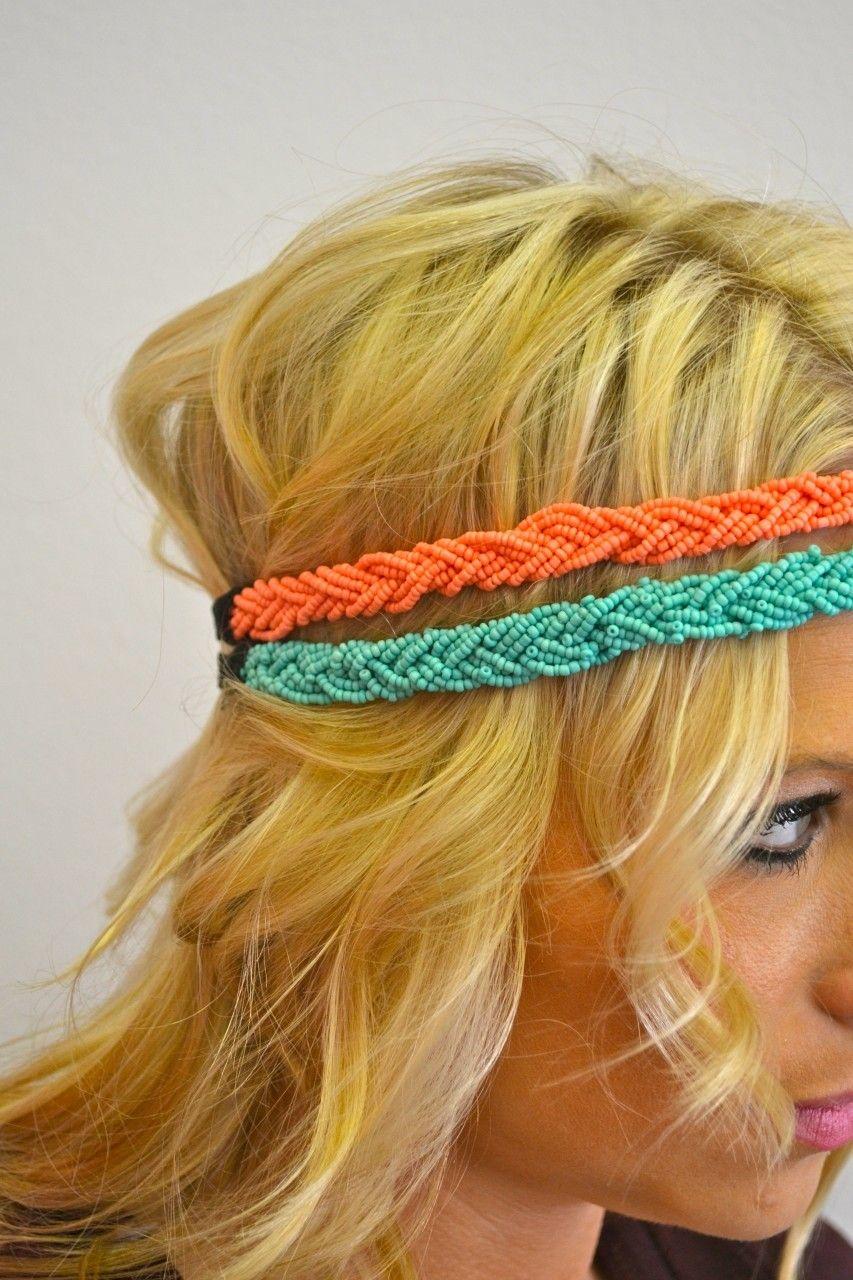 Southern Jewlz Online Store - Beaded Headband, $12.95 (http://www.southernjewlz.com/beaded ...