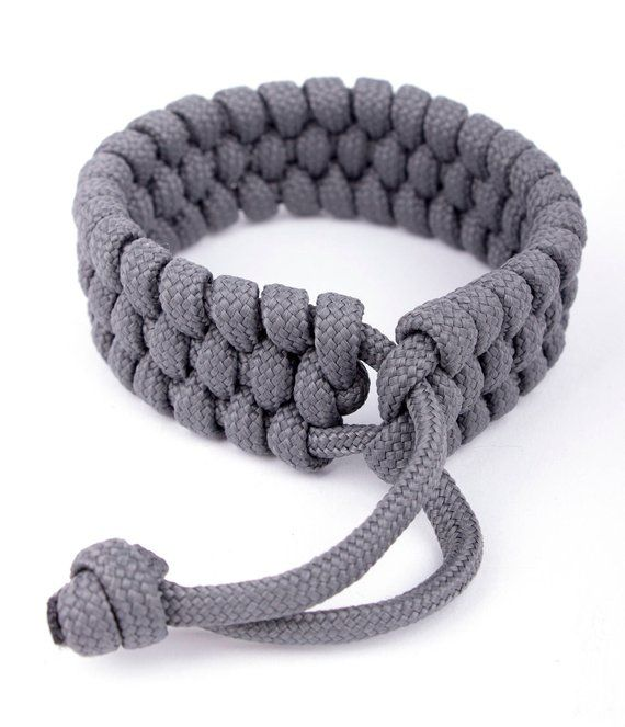 Fishtail Paracord Bracelet - Mad Max Style  Nautical