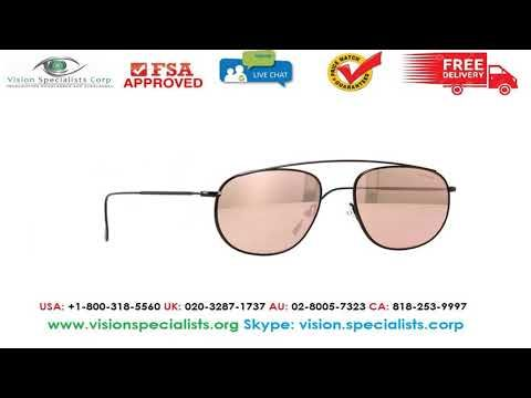 4e6cda2f12db Illesteva Santorini Black With Rose Flat Mirror Sunglasses ...