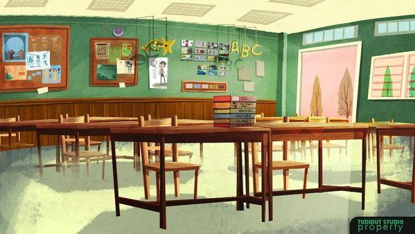 Animation Background on Behance