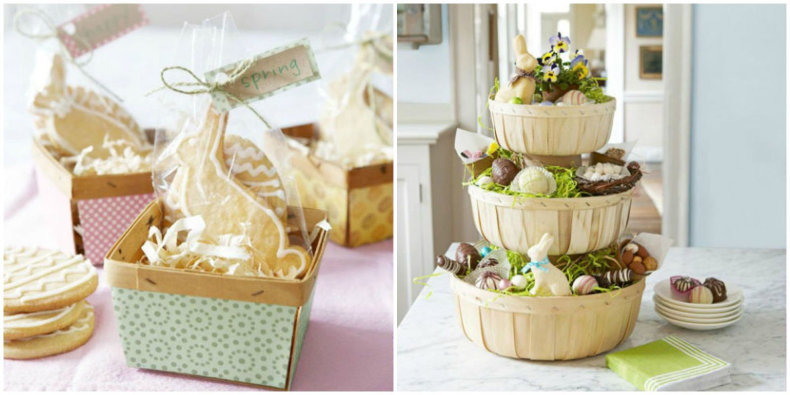 38 Creative Easter Basket Ideas That You Can Make For Your Whole Family Easter Basket Diy Easter Baskets Homemade Easter Baskets