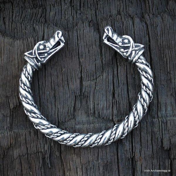 Viking wolf bracelet