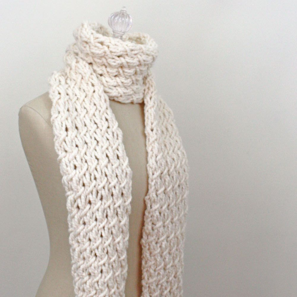 Phydeaux Twist Chunky Scarf Knitting Pattern | Current Projects ...
